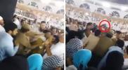 فوضى في المسجد الحرام.. الأمن السعودي يقبض على معتمر يحاول حرق الكعبة ونساء تصرخ (فيديو)