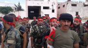 """بعد توسع نفوذه وارتباطه بروسيا.. ميليشيا """"لواء القدس"""" يحوّل مخيم حندرات في حلب لقاعدة عسكرية"""