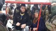 """هذا ما فعلته """"تحرير الشام"""" بأم الثوار في مدينة الأتارب بعد السيطرة عليها ( فيديو)"""