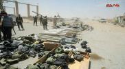 تنديد سوري واسع بعد فضيحة تسليم ترسانة الأسلحة الهائلة للنظام بالقلمون الشرقي