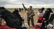"""امرأة من """"تنظيم الدولة"""" تهرب من قبضة ميليشيات """"الوحدات"""" في الحسكة (فيديو)"""