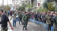 استقبال مهيب لإسطوانات الغاز في حماة.. وموالون للنظام يعلقون (صور)