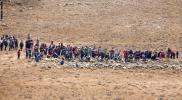 جيش الاحتلال يرفض دخول لاجئين سوريين على الشريط الحدودي