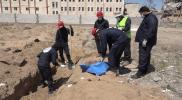 انتشال جثث جديدة من مقابر الرقة العشوائية