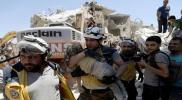 طائرات الاحتلال الروسي ترتكب مجزرة مروعة في بلدة البارة بإدلب