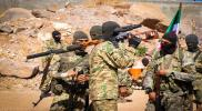 الجيش الوطني يدفع تعزيزات عسكرية ضخمة على حدود منبج شرق حلب