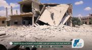 """قصف هستيري... طائرات الأسد وروسيا تمطر """"خان شيخون"""" بعشرات الصواريخ الفراغية"""