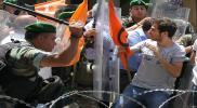 """لبنان: إصابات في اشتباكات بين الأمن ومتظاهرين في """"برج حمود"""""""