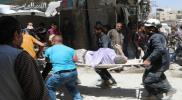 62 ضحية مدنية في سوريا يوم أمس الأربعاء بنيران قوات الأسد وتنظيم الدولة