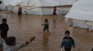 الأمم المتحدة: السيول شردت عشرات آلاف النازحين في شمال سوريا