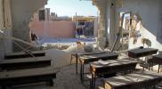 """على بوابة المدرسة.. الراجمات الصاروخية لـ""""نظام الأسد"""" تحصد طفلًا وتقتل أحلامه شرقي إدلب"""