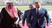 """رغم إعادة علاقاته مع قطر.. """"ملك الأردن"""" يعود بمفاجأة مليونية بعد لقائه """"الملك سلمان"""""""