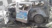 """تفجير ضخم يضرب مركز شرطة ميليشيات """"الوحدات"""" في منبج (صور)"""