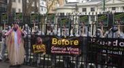 مظاهرات في لندن تطالب السعودية بالإفراج عن المعتقلين