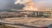 كأنه نووي.. انفجار ضخم يهز بيروت قرب مقر إقامة سعد الحريري (فيديو)