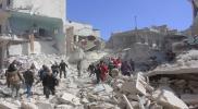 54 ضحية مدنية أمس الاحد في مناطق متفرقة بسوريا