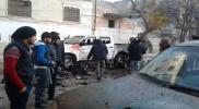 """قتلى وجرحى في انفجار """"مفخختان"""" في إدلب و""""منبج"""" بحلب (صور)"""