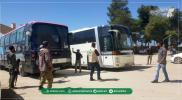"""تفاصيل استهداف """"قوات الأسد"""" قافلة الدفعة الثامنة من مهجري دوما"""