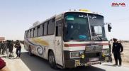 """آخر تطورات عملية تهجير """"جيش الإسلام"""" من الضمير إلى جرابلس (صور)"""