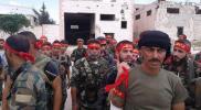 """ميليشيا """"لواء القدس"""" يعلن عن عمل عسكري في هذه المنطقة"""