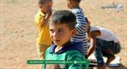 أطفال الشتات في المخيمات.. لا واقي لحرّ الصيف ولا رادع لبرد الشتاء (صور)