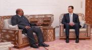 """سفير السودان في دمشق يربط زيارة """"البشير"""" إلى دمشق بإسرائيل.. ويدلي باعتراف بشأن روسيا"""
