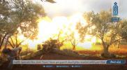 """""""هيئة تحرير الشام"""" تدك بالمدفعية مواقع النظام في """"محردة"""" الإستراتيجية بحماة (صور)"""