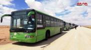 خروج ٱلاف المدنيين من مخيم الركبان إلى مناطق سيطرة نظام الأسد