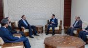 بشار الأسد الجريح أمام الثوار في معارك حماة يقدم وعدًا لإيران بشأن مواجهتها مع أمريكا