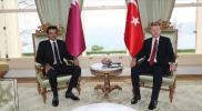 """الاتصال الثاني خلال أيام.. أمير قطر يبحث مع رئيس تركيا تطورات """"الأزمة الراهنة"""""""