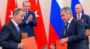 بعد 24 ساعة من قصف إدلب.. وزير الدفاع التركي يعلن عن إجراء مشترك مع روسيا
