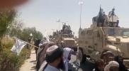 """""""طالبان"""" تستعرض في أضخم عرض عسكري جوي وبري بقندهار بأحدث الأسلحة الأمريكية (فيديو)"""