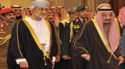 """تصريح عاجل من """"الملك سلمان"""" إلى """"السلطان هيثم بن طارق"""" بشأن """"إعصار شاهين"""""""