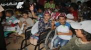 مؤسسة سبل السلام تكرم أبناء الشهداء في ريف إدلب
