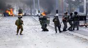 إصابة العشرات في مواجهات بالضفة وغزة