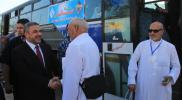 حجاج غزة يغادرون إلى السعودية عبر معبر رفح