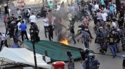 لبنان.. 400 جريح في صدامات بين المتظاهرين والأمن