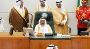 أمير الكويت يحذر شعبه مما يحدث في المنطقة العربية