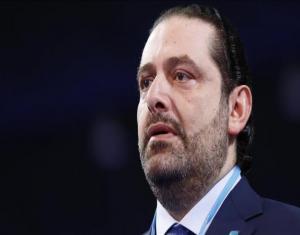"""بالفيديو.. """"الحريري"""" يتجنب مصافحة سفير """"نظام الأسد"""".. ويشعل """"تويتر"""""""