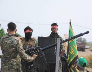 طائرات مجهولة تنفذ مقتلة بعناصر الميليشيات الإيرانية شرق ديرالزور