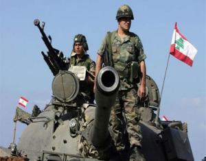 الجيش اللبناني يطلق النار على طائرة إسرائيلية اخترقت أجواء البلاد