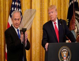 """""""ترامب"""" يعلن بنود """"صفقة القرن"""" ومصير القدس.. ويشكر 3 دول خليجية على الدعم"""