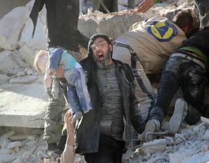 20 ضحية بينهم 16 طفلًا في مجزرة روسية شرقي إدلب