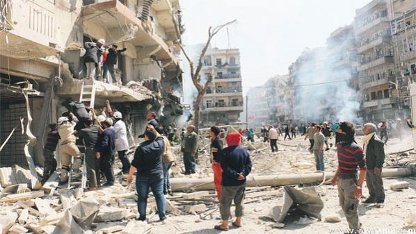مقتل 76 بنيران الأسد في سوريا أمس الأحد