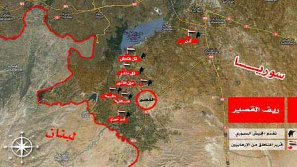 """على أنقاض السنة..""""حزب الله"""" يقيم """"إمارة شيعية""""  بحمص"""