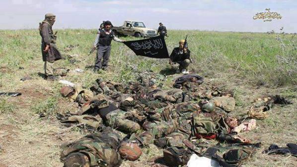 """مقتل 35 من """"حزب الله"""" وقطع طريق """" يبرود - عسال الورد - الجبّة"""" في القلمون"""