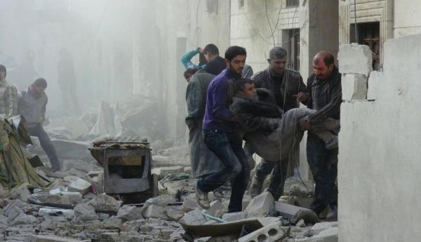 """الائتلاف يدعو مجلس الأمن إلى وقف """"جرائم الحرب الروسية"""" في سوريا"""