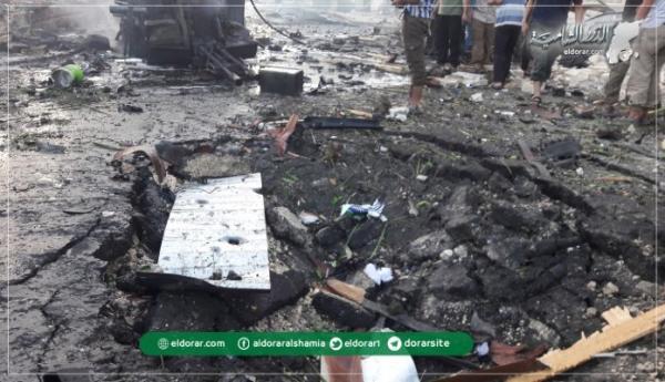 """4 تفجيرات تهزّ إدلب.. """"العبوات الناسفة"""" تقطع الهدوء النسبي لوقف القصف"""