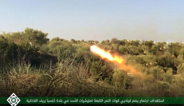 """""""أحرار الشام"""" تكشف تفاصيل استهداف اجتماع لقيادات ميليشيا """"النمر"""" باللاذقية"""
