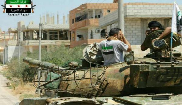 """""""الجبهة الجنوبية"""" تطالب المدنيين بسرعة إخلاء بلدة """"سحم الجولان"""" بريف درعا.. وتوضح السبب"""